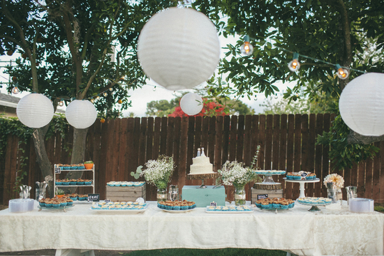 dessert table love