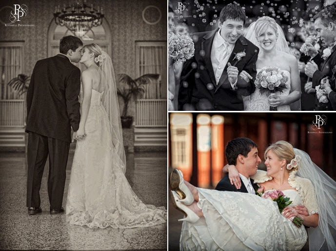 Beautiful Vintage Bride And Handsome Der Groom Kiss After Becoming Husband Wife