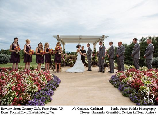 Bowling Green Country Club; Karla, Aaron Riddle Photography; No Ordinary Ordained