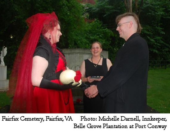 Fairfax Cemetery; Michelle Darnell, Belle Grove Plantation B&B; No Ordinary Ordained