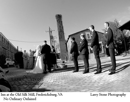 Inn at the Old Silk Mill; Larry Stone Photography; No Ordinary Ordained