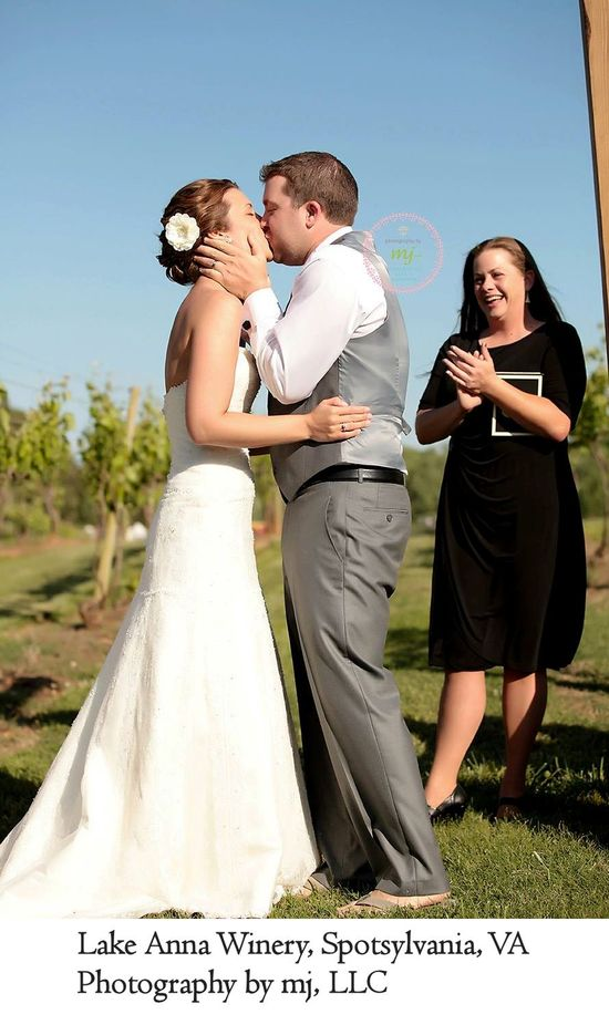 Photography by mj LLC; Lake Anna Winery; No Ordinary Ordained