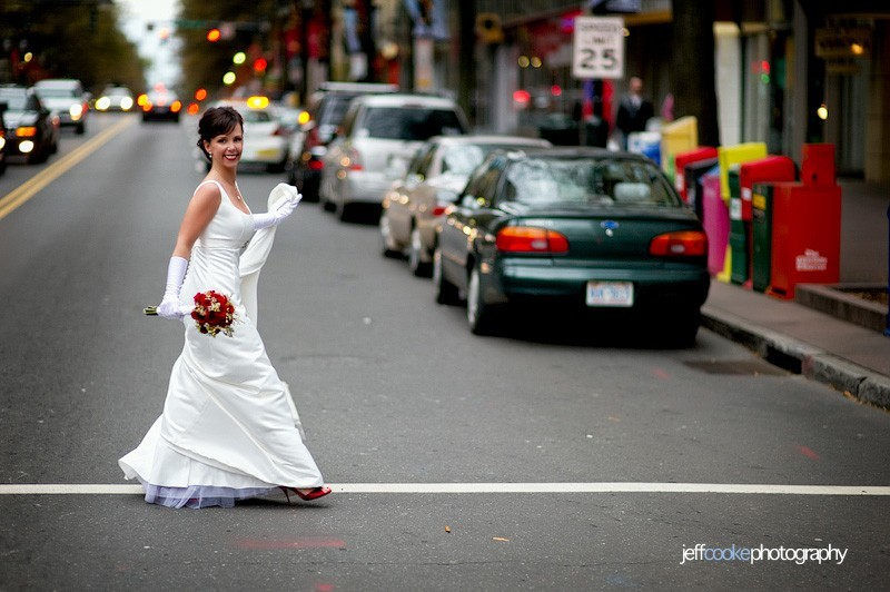 Stalking-the-look-book-mikaella-white-scoop-neck-wedding-dress-urban-setting-red-bridal-shoes.full