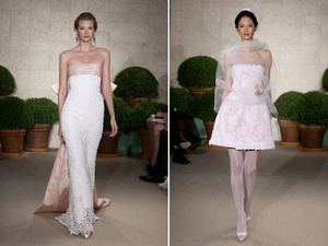 photo of Spring 2011 Bridal Runway: Oscar de la Renta Wedding Dresses!
