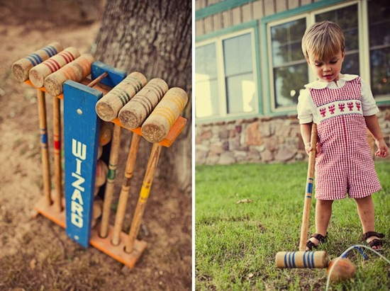 Cute Croquet for Kids