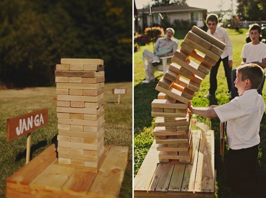 Jumbo Jenga For Kids