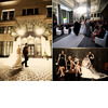 Winter-chicago-downtown-wedding-bride-groom-walk-into-wedding-reception-amsale-wedding-dress.square