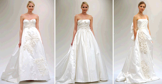 photo of Spring 2011 Bridal Runway: Reem Acra Wedding Dress Collection