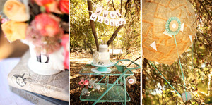 photo of Outdoor Vintage-Chic Wedding Details To Die For!