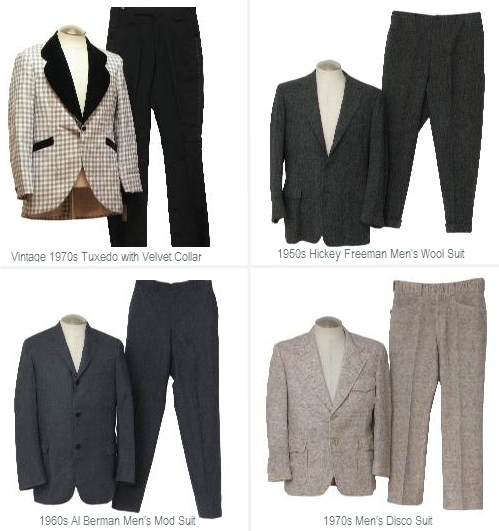 Rad vintage and pre-owned men's formalwear for Groom or groomsmen on the wedding day