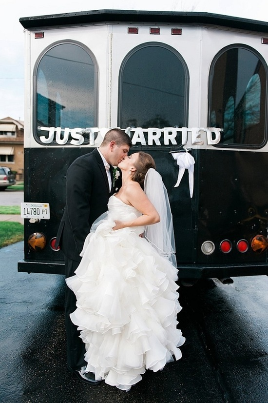 Just Married Train