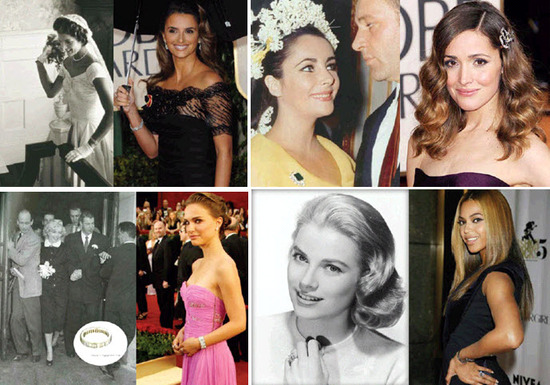 Diamonds, Platinum Through History: Iconic Celeb Weddings Inspire Red Carpet Jewels Today