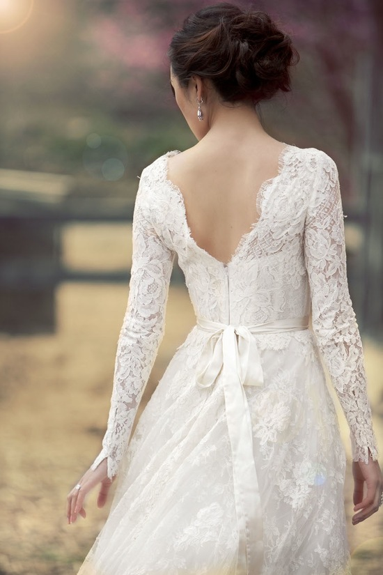 A Beautiful Lace Dress