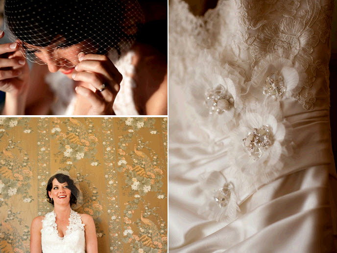 Bridal-style-details-v-neck-white-lace-wedding-dress-vintage-birdcage-veil-red-lips.original
