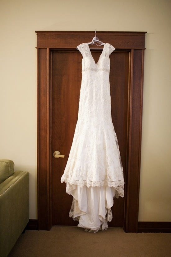 Lace Dress on the Hanger