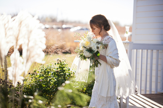 photo of A Picturesque Fall Country Wedding