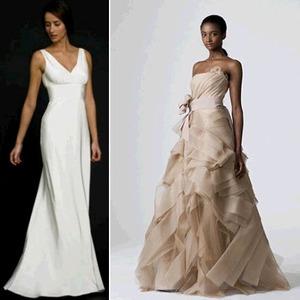 Rent Designer Wedding Dresses Including Monique Lhuillier From One Night Affair