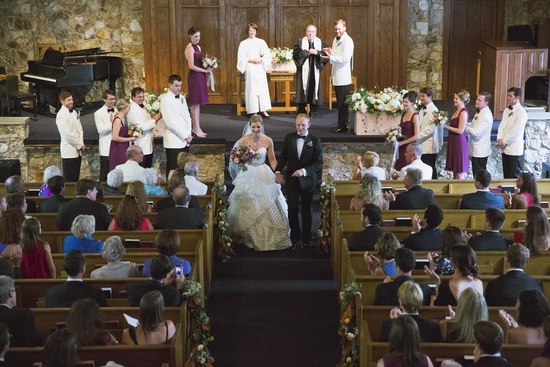 Montreat Chapel Summer wedding