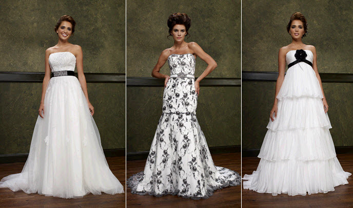 Emerald-couturiers-white-wedding-dresses-with-black-accents-ruffles-print-floral-applique.full