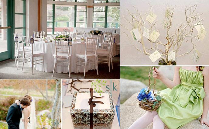 Flower-girl-wears-celery-green-flower-girl-dress-rustic-manzanilla-branches-hold-escort-cards-wedding-reception-tablescape.full