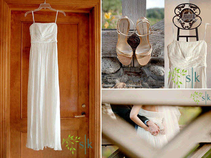 Pastel-spring-wedding-low-key-casual-outdoor-backyard-wedding-white-sheath-wedding-dress-open-toe-beige-bridal-heels.full
