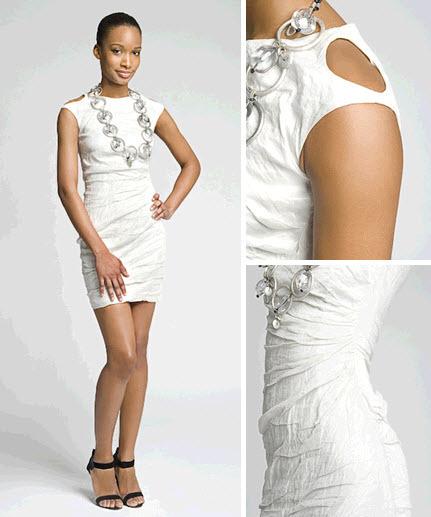 White-mini-crinkle-dress-for-rehearsal-dinner-wedding-reception.full