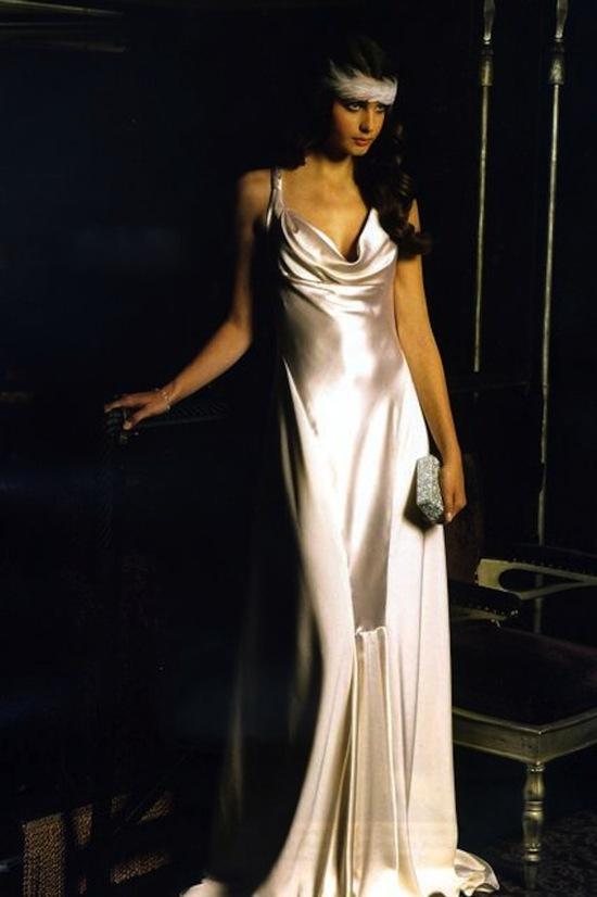 photo of The Liquid Satin Dress