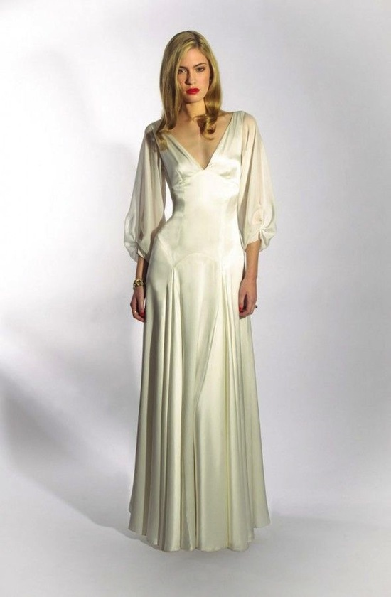 photo of The Liquid Satin Dress
