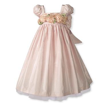 Light-pink-spring-dress-for-flower-girl-little-girl-rose-applique.full