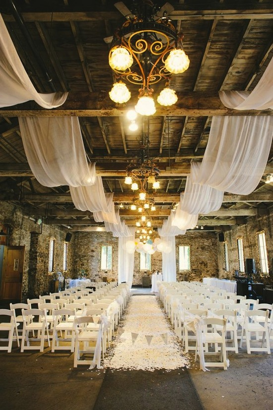 Rustic Barn Drapes