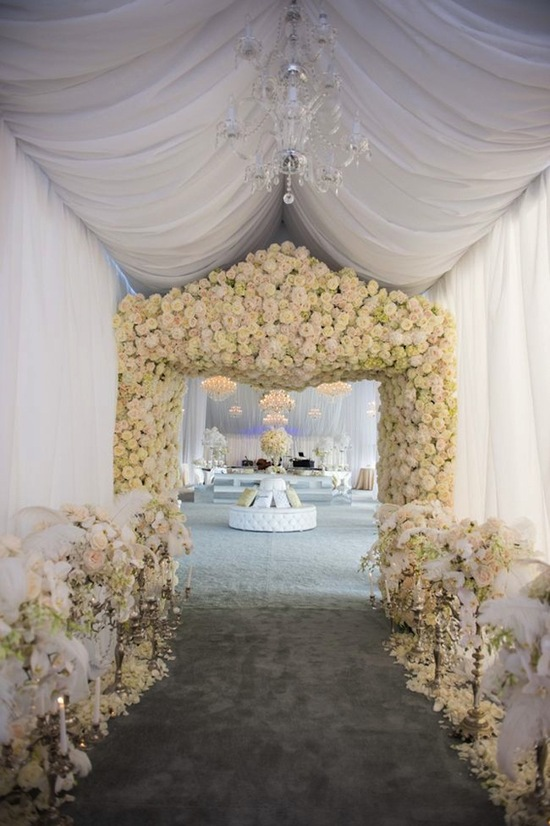 Entrance to the Reception
