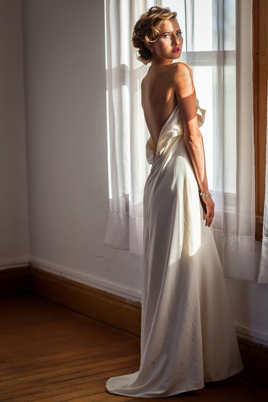Bridal Back Long Dress