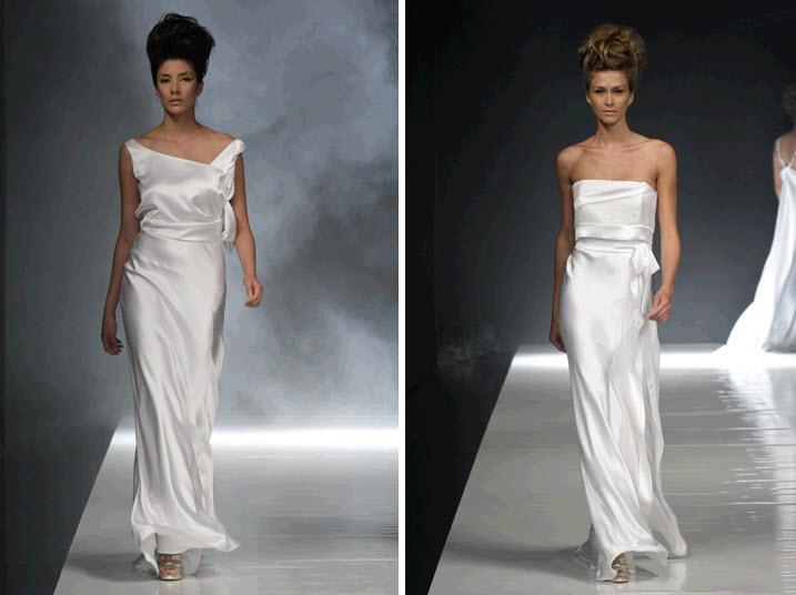 White-satin-sheath-style-wedding-dresses-asymmetric-strapless-simple-modern.full