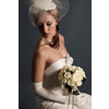 Classic-ivory-bridal-bouquet-strapless-wedding-dress-high-gloves.square
