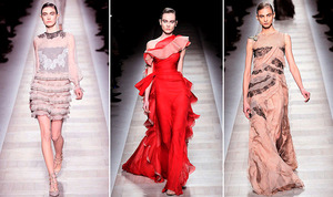 photo of Return To Romance, A Ruffle Revolution: Fall 2010 Valentino Collection