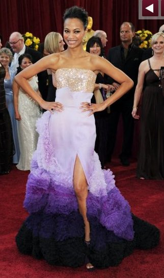 photo of Question of the Week: What Did You Think of Zoe Saldana's Oscar Dress?