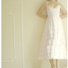 Casually-beautiful-white-tea-length-wedding-dress-simple.square