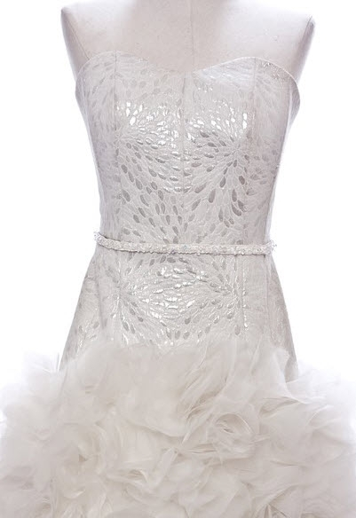 photo of The White Orchid Wedding Dress