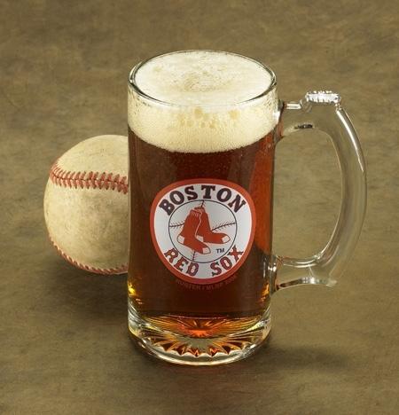 photo of Engraved MLB Mug For Baseball-Fanatic Groomsmen