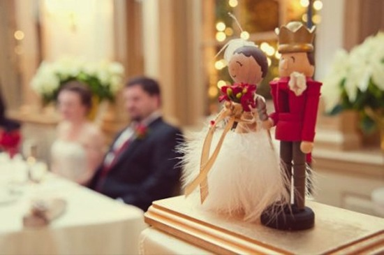 Nutcracker Wedding Topper