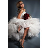 Feminine-bridal-look-tulle-skirt-white-wedding-dress-romantic-bridal-style.square