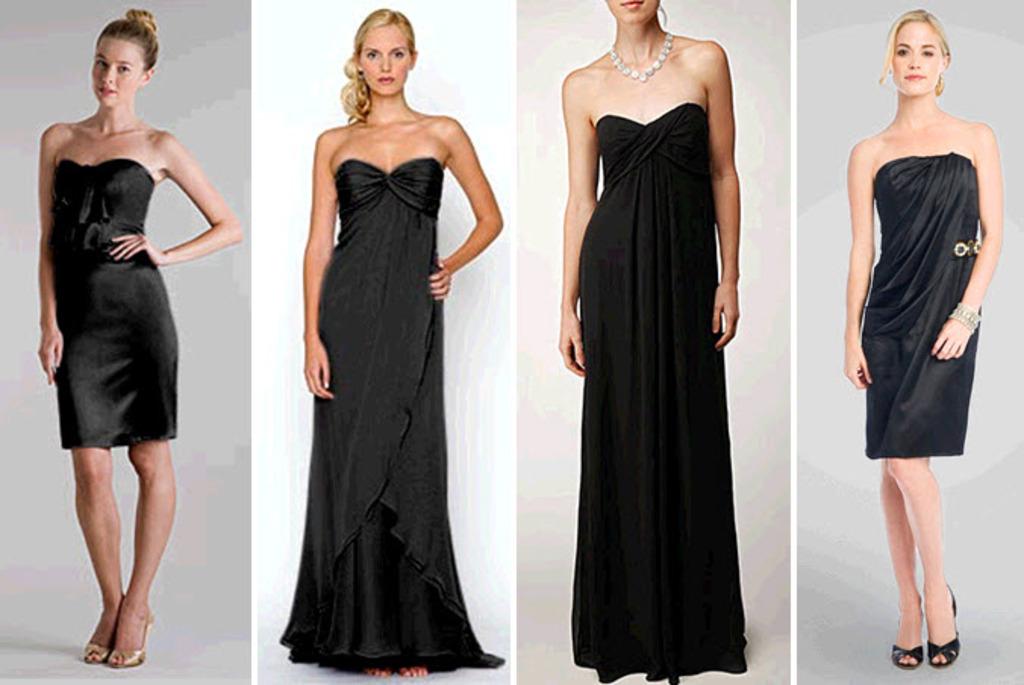 Little Black Dress on OneWed