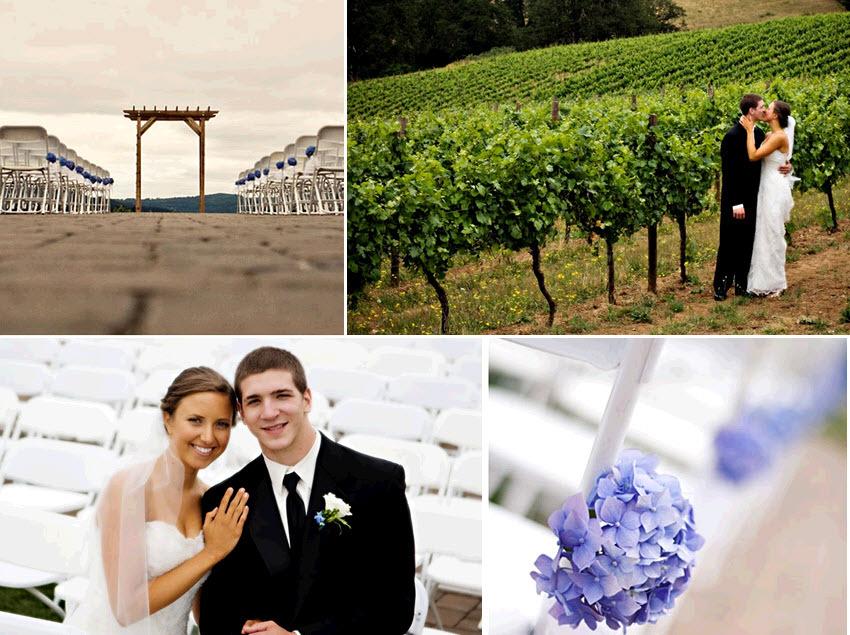 Beautiful-outdoor-featured-wedding-winery-wedding-venue-purple-blue-hydrangeas-bride-groom-kiss-after-saying-i-do.full