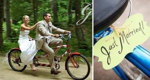 photo of Recycled Bride: Arrive In Sustainable Style- Green Wedding Transportation