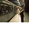 Bride-groom-go-eco-chic-green-wedding-transportation-subway.square