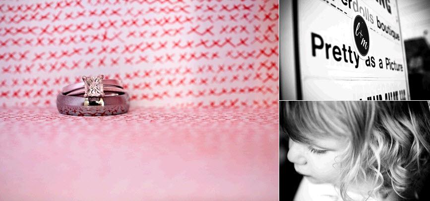 Engagement-wedding-ring-diamond-artistic-photo-pink-red-white-background-black-white-monogram-wedding-programs.full
