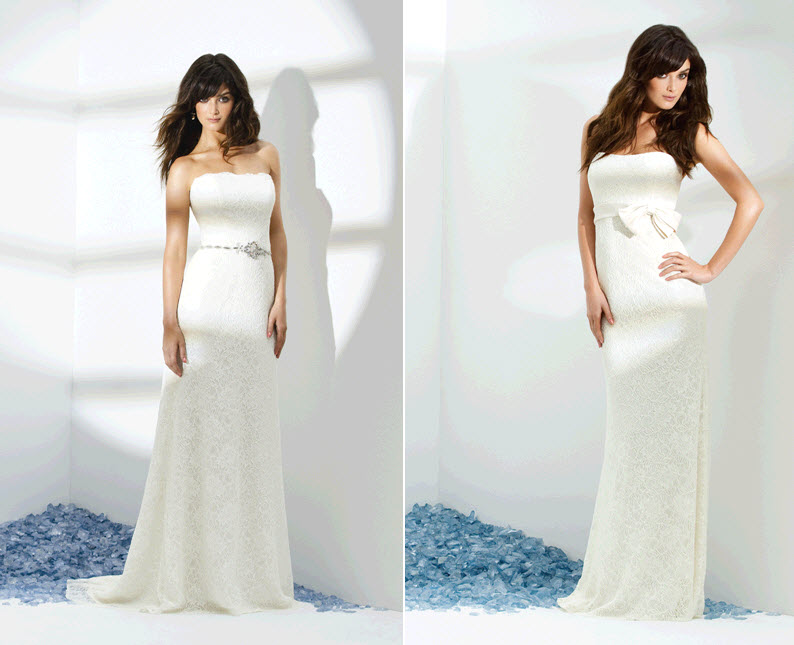 Beautiful White Strapless Wedding Dresses Perfect For Your Beach Wedding On