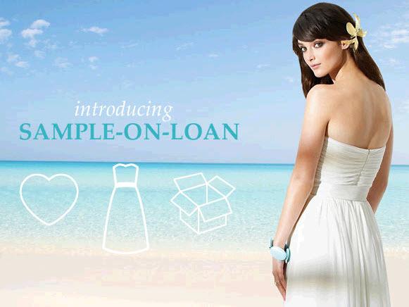 New Sample-on-Loan program from Dessy for Sandals Destination ...
