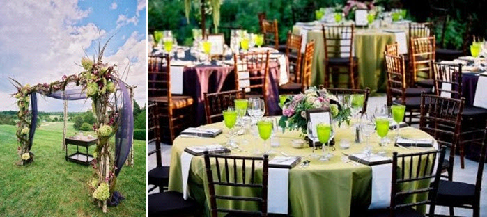 Chic-outdoor-whimsical-wedding-lime-green-sage-green-wood-rose-pink-tablescape-chuppa.original