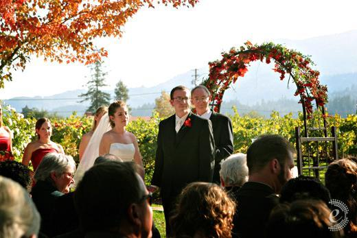 Face-the-crowd-unusual-wedding-ceremony-bride-groom-outdoor-fall-wedding.full